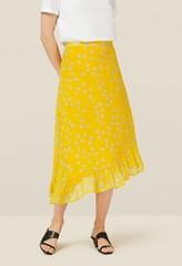Ebba Turmeric Floral Skirt