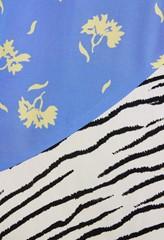 Sofia Mixed Print Skirt