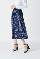 Albyn Printed Tie Waist Skirt