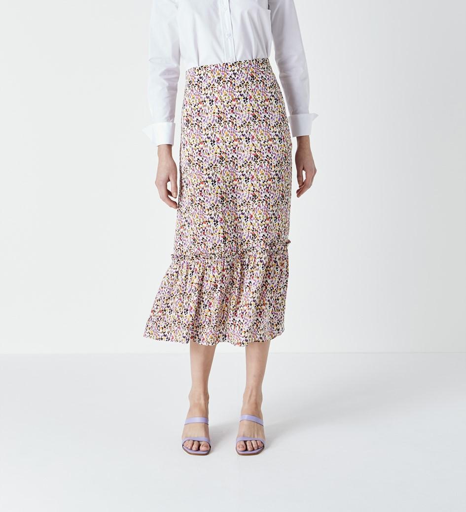 Alaina Printed Skirt