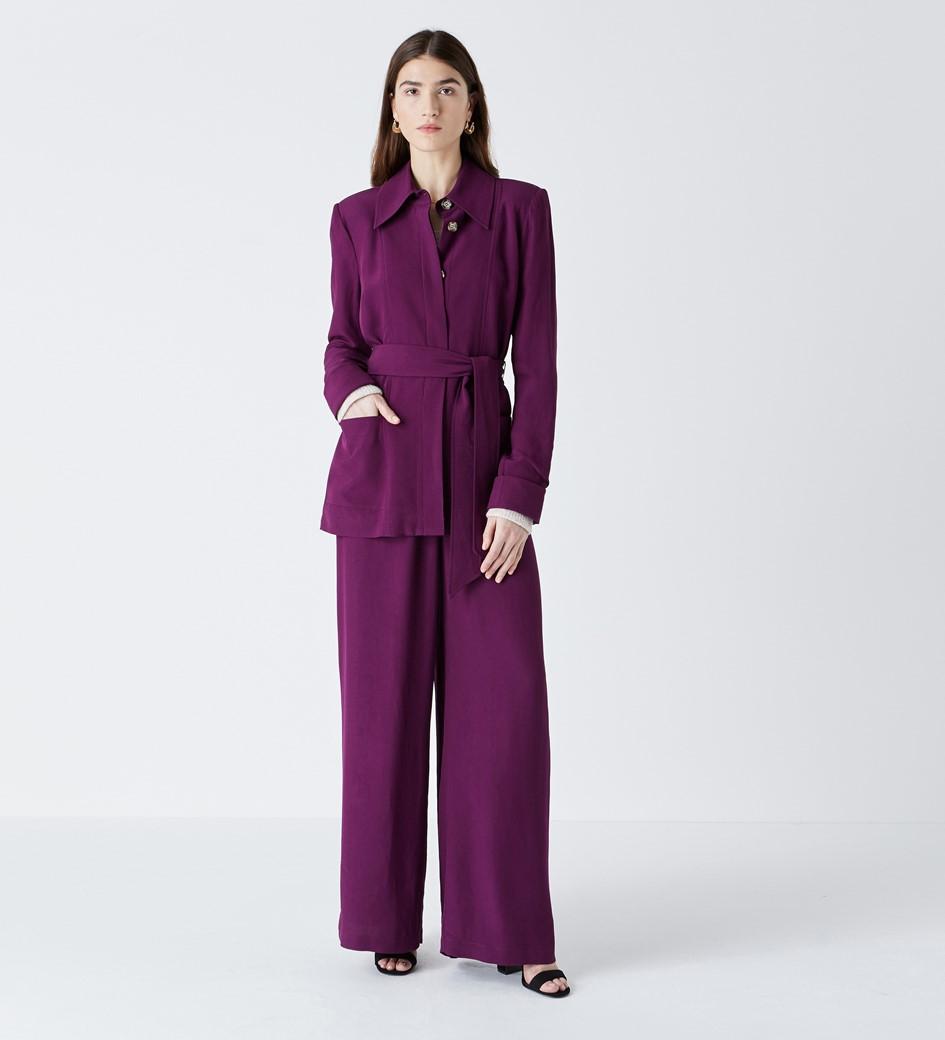 Rowley Purple Jacket