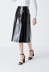 Elsie Patent Leather Skirt