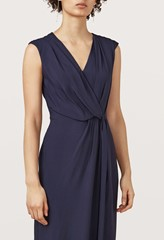Hilton Midnight Blue Wrap Dress