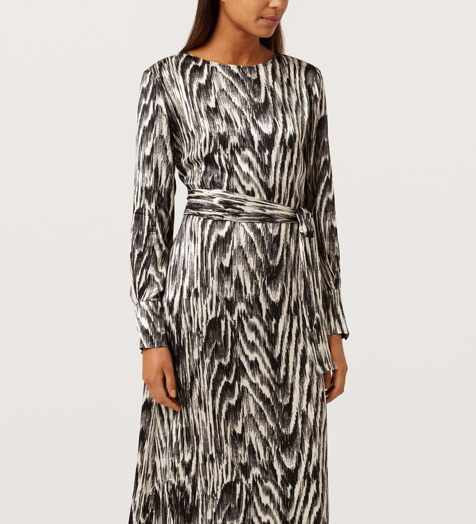Crocus Printed Dress