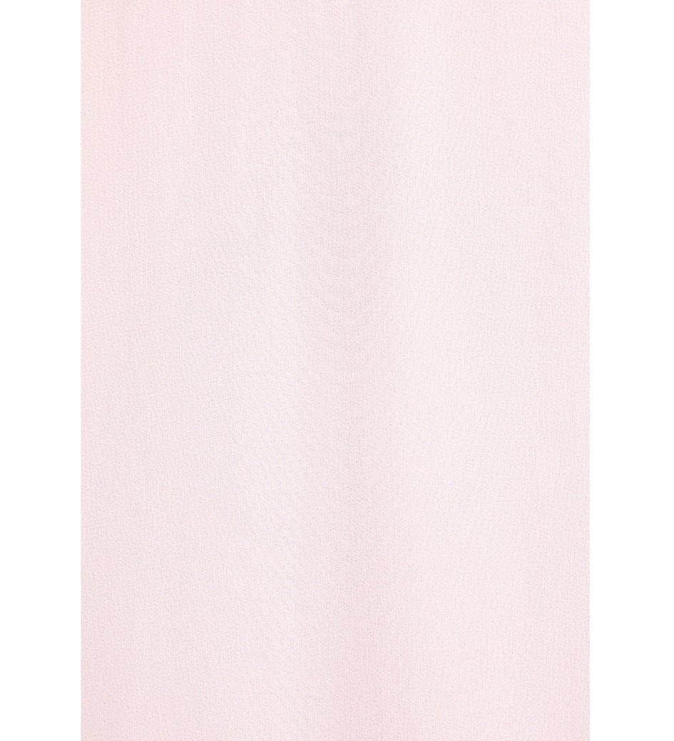 Ashley Pale Pink Dipped Hem Dress