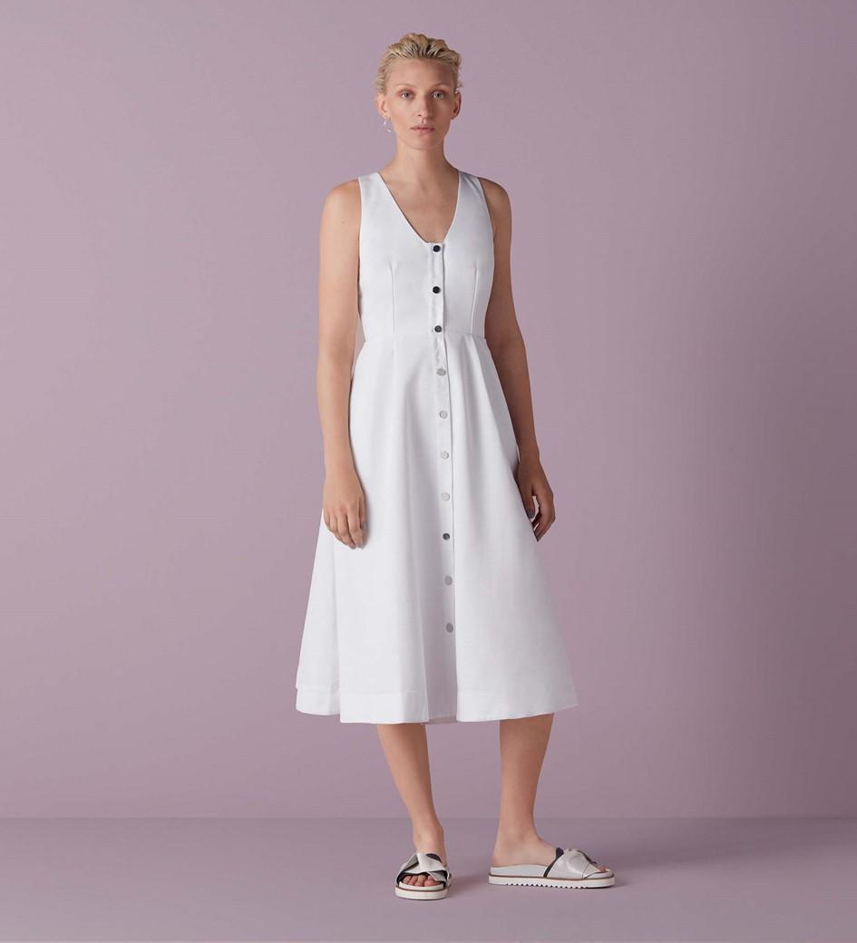 Bartley Button Through Dress