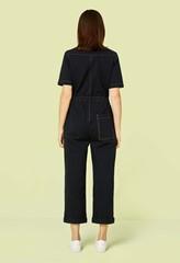 Emmy Black Denim Boilersuit
