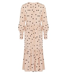 Bella Midi Pink Spot Dress