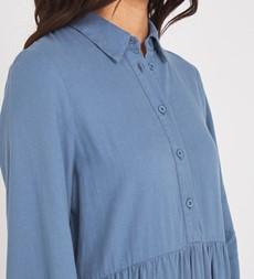 Jessa Midi Denim Blue Dress