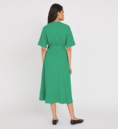 Sabine Midi Green Dress