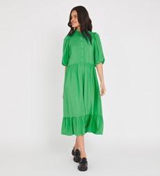 Kyra Midi Emerald Green Dress