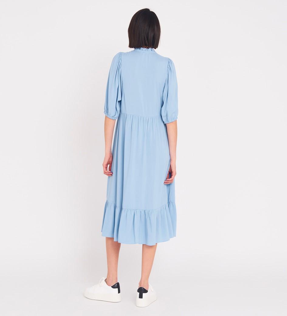 Kyra Midi Light Blue Dress