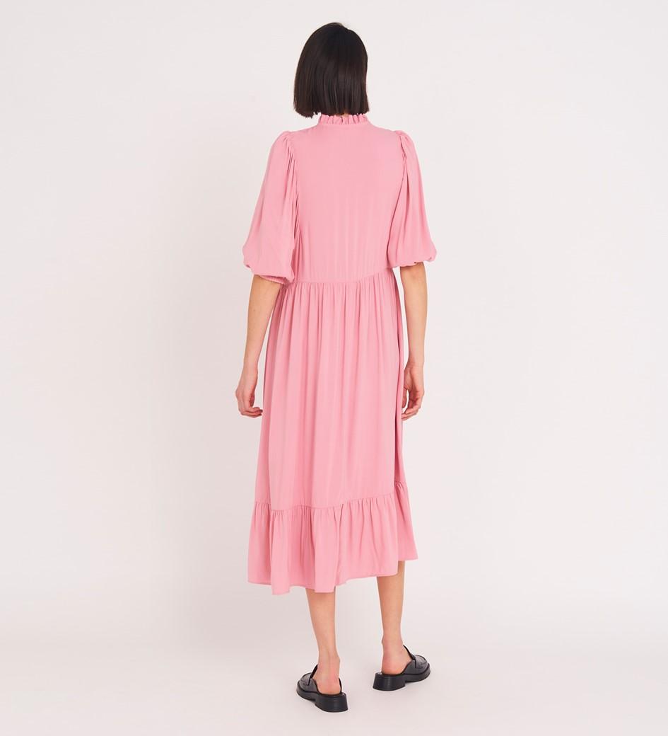 Kyra Midi Pink Dress