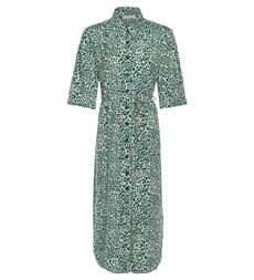 Rylee Midi Taupe Leopard Dress