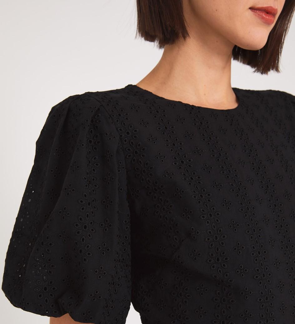 Silas Black Dress