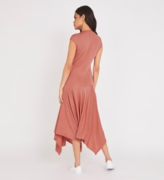 Bailey Midi Peach Dress