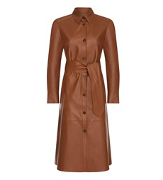 Sydney Leather Dress