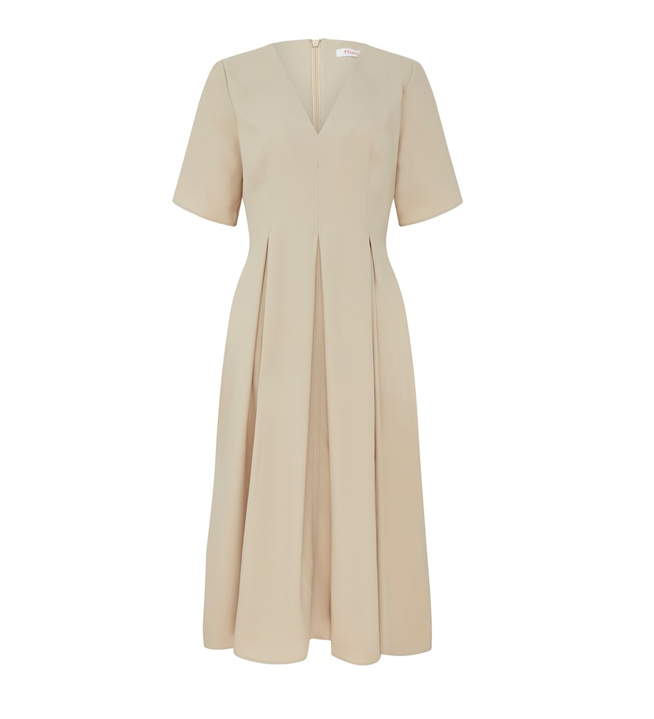 Melly Midi Taupe Dress