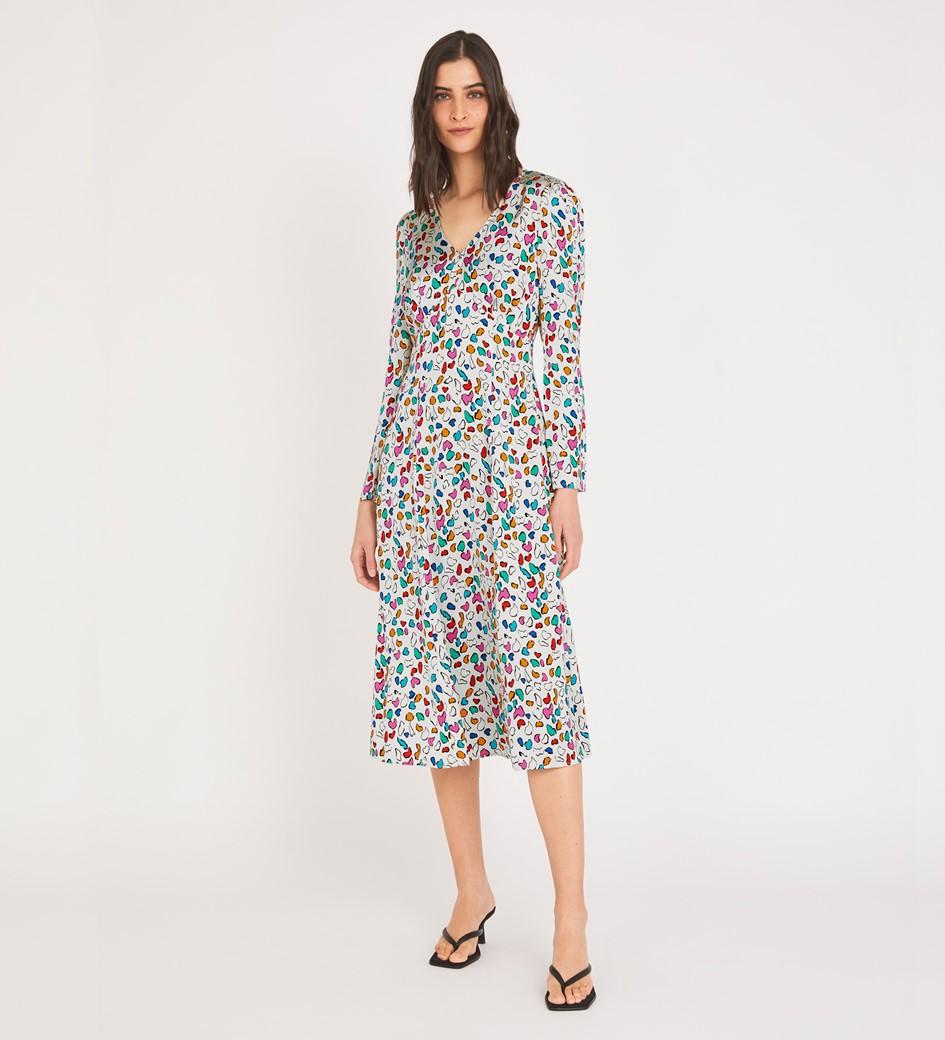 Molly Midi Starla Spot Dress