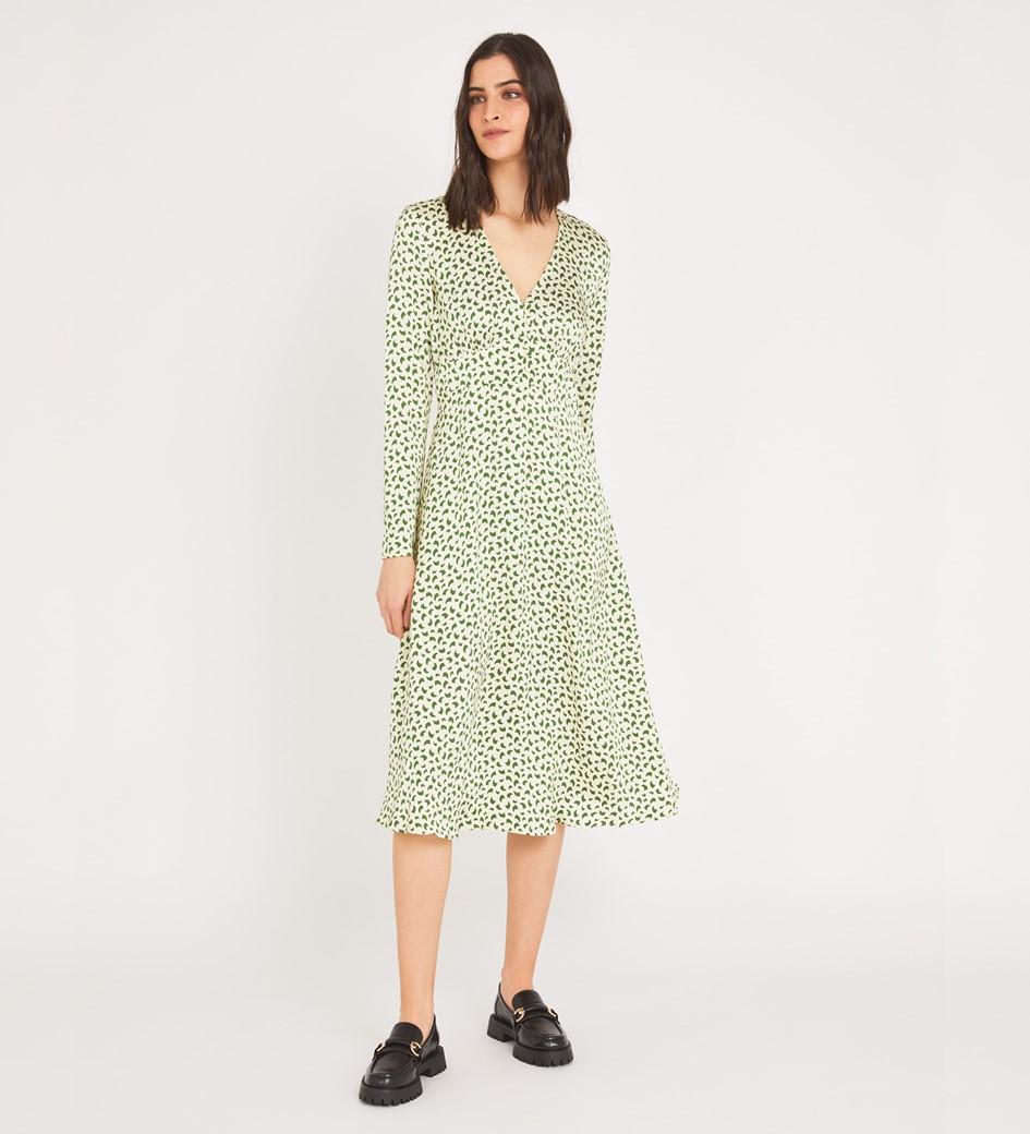 Lilly Midi Confetti Geo Dress