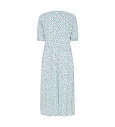 Florence Midi Blue Ditsy Dress