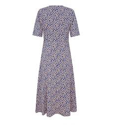 Sophia Midi Blue Daisy Dress