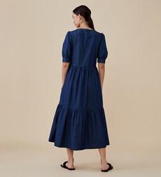 Amelia Denim Blue Dress