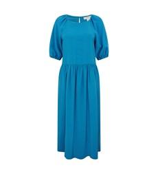 Aurora Blue Check Dress