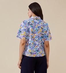 Callie Multi Floral Shirt