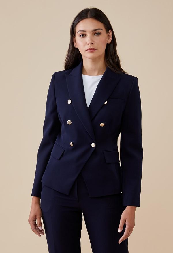 Lydia Navy Jacket