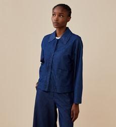 Agnes Denim Blue Jacket