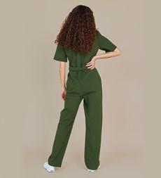 Jessie Khaki Jumpsuit