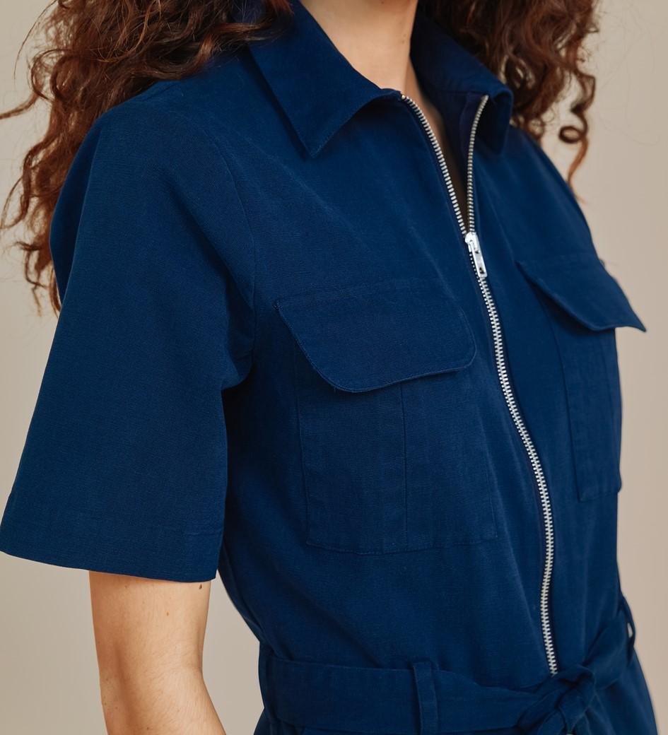 Jessie Navy Jumpsuit