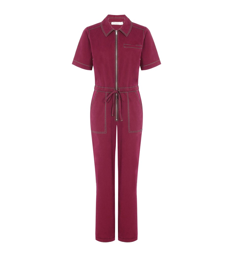 Emmy Red Jumpsuit