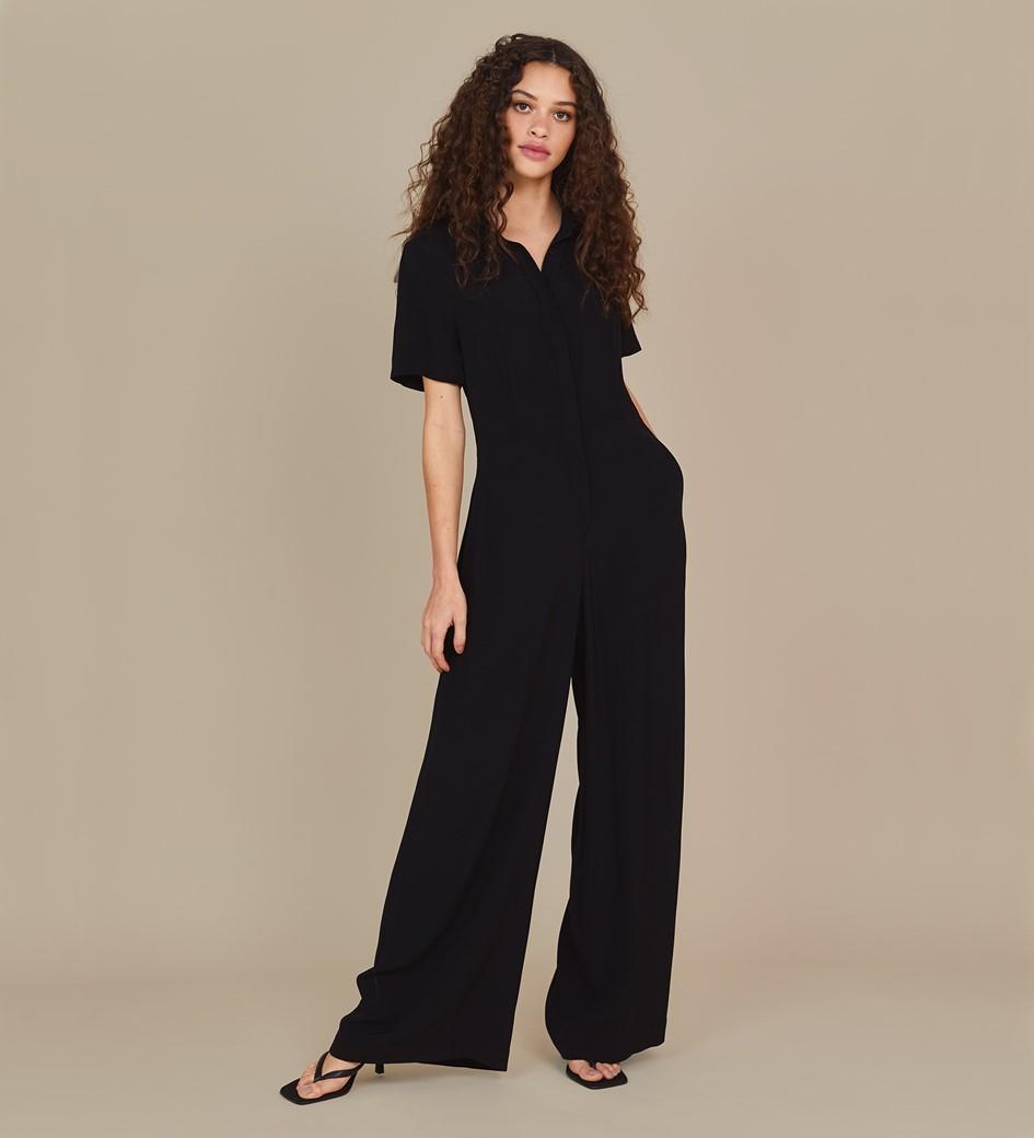 Alida Black Jumpsuit