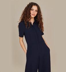 Alida Navy Jumpsuit