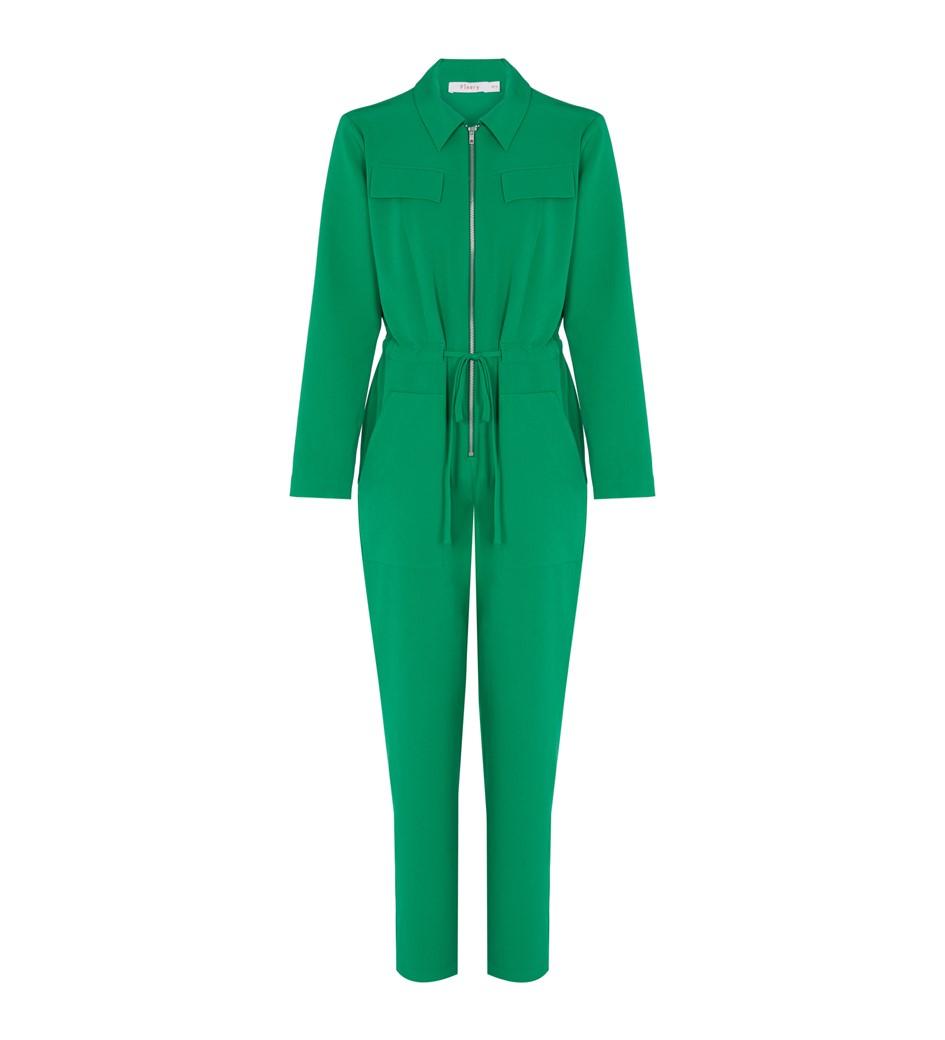 Hallford Green Jumpsuit