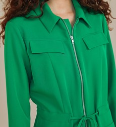 Hallford Green Jumpsuit