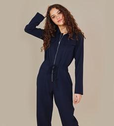 Hallford Navy Jumpsuit