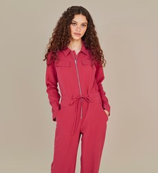 Hallford Pink Jumpsuit