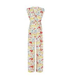 Maria White Floral Jumpsuit