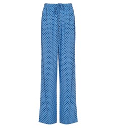 Natalya Blue Spot Trouser