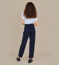 Harper Navy Trouser