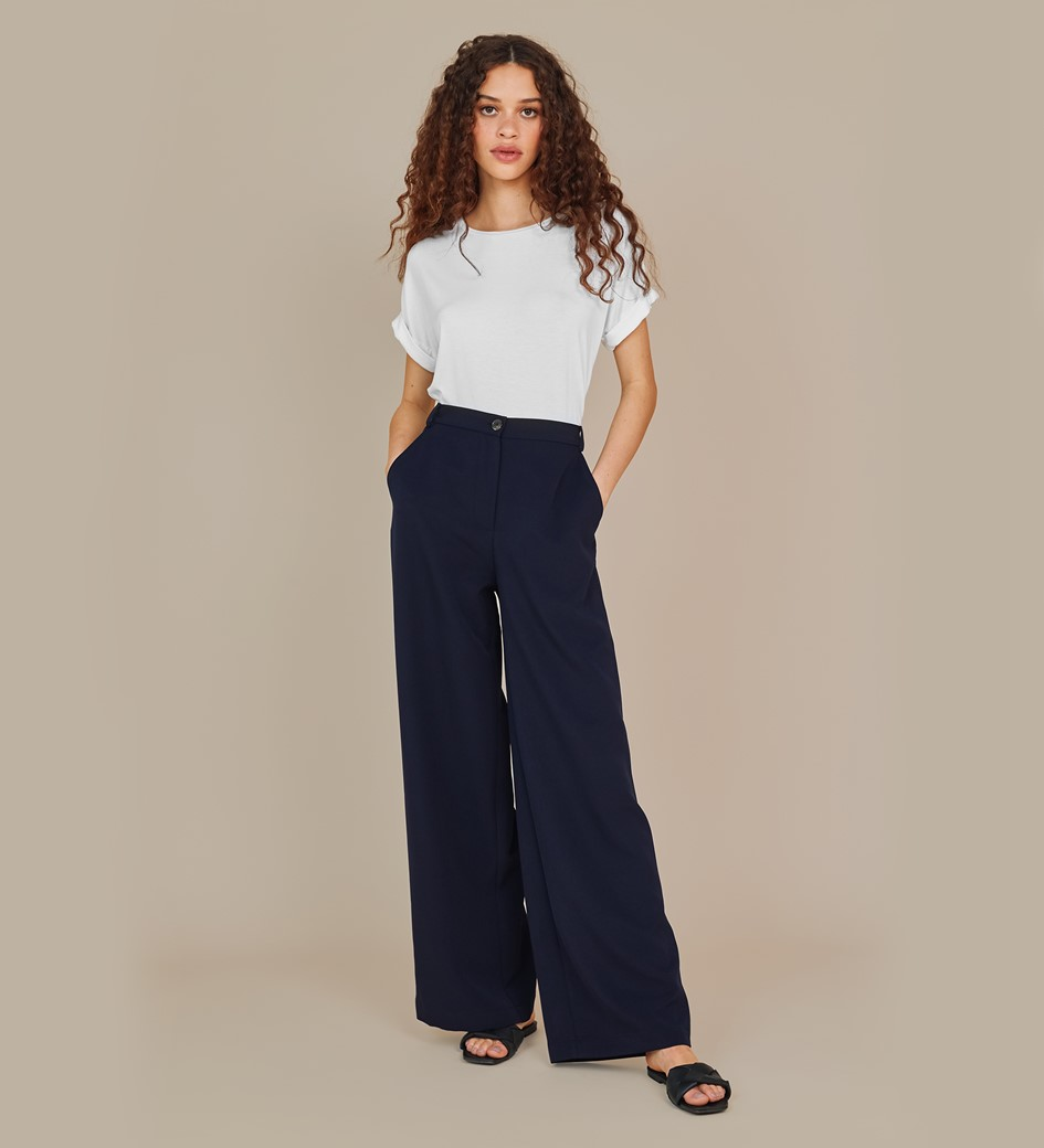 Kaden Navy Trousers