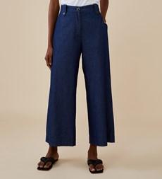 Alice Denim Blue Trouser