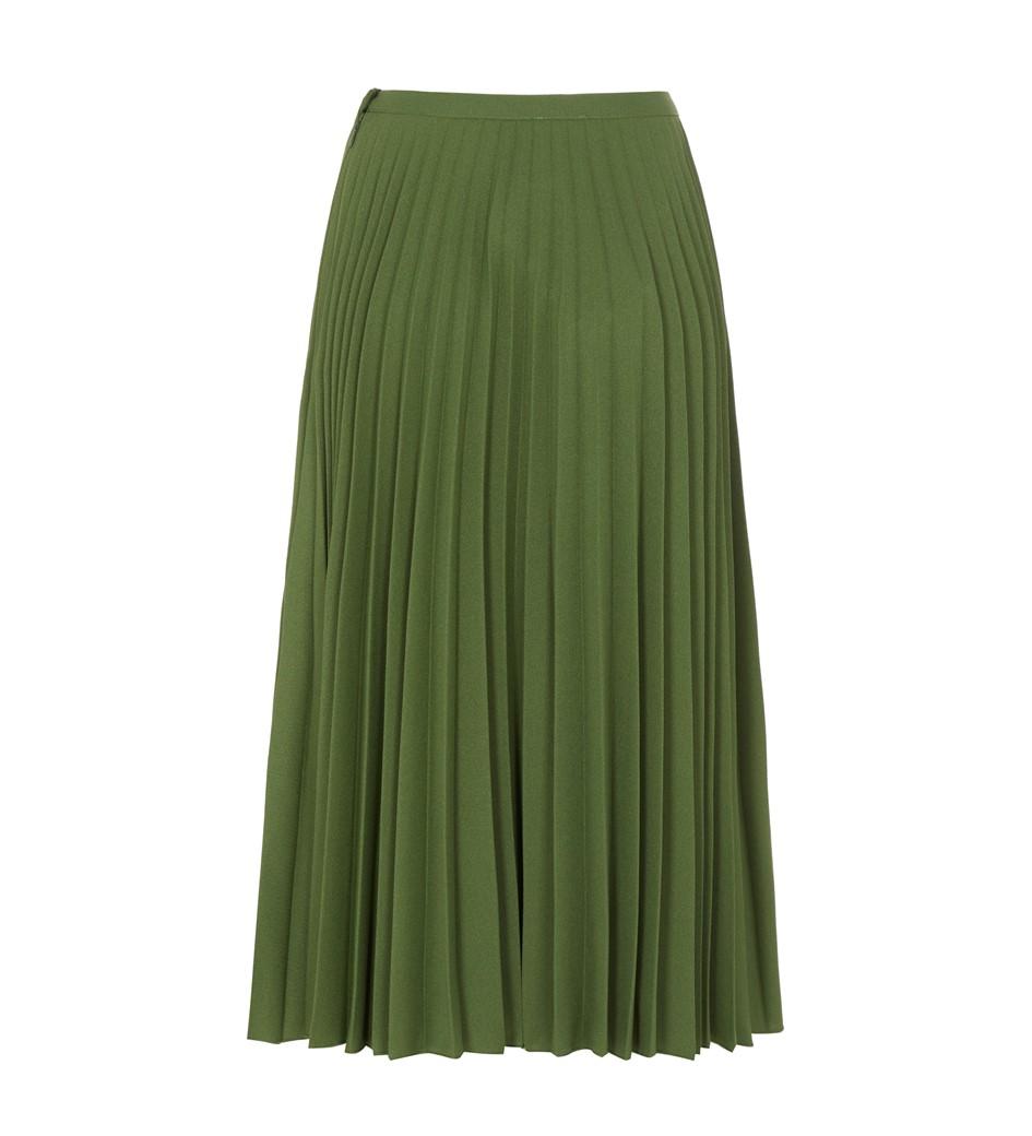 Lottie Green Midi Skirt