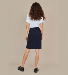 Emma Navy Skirt