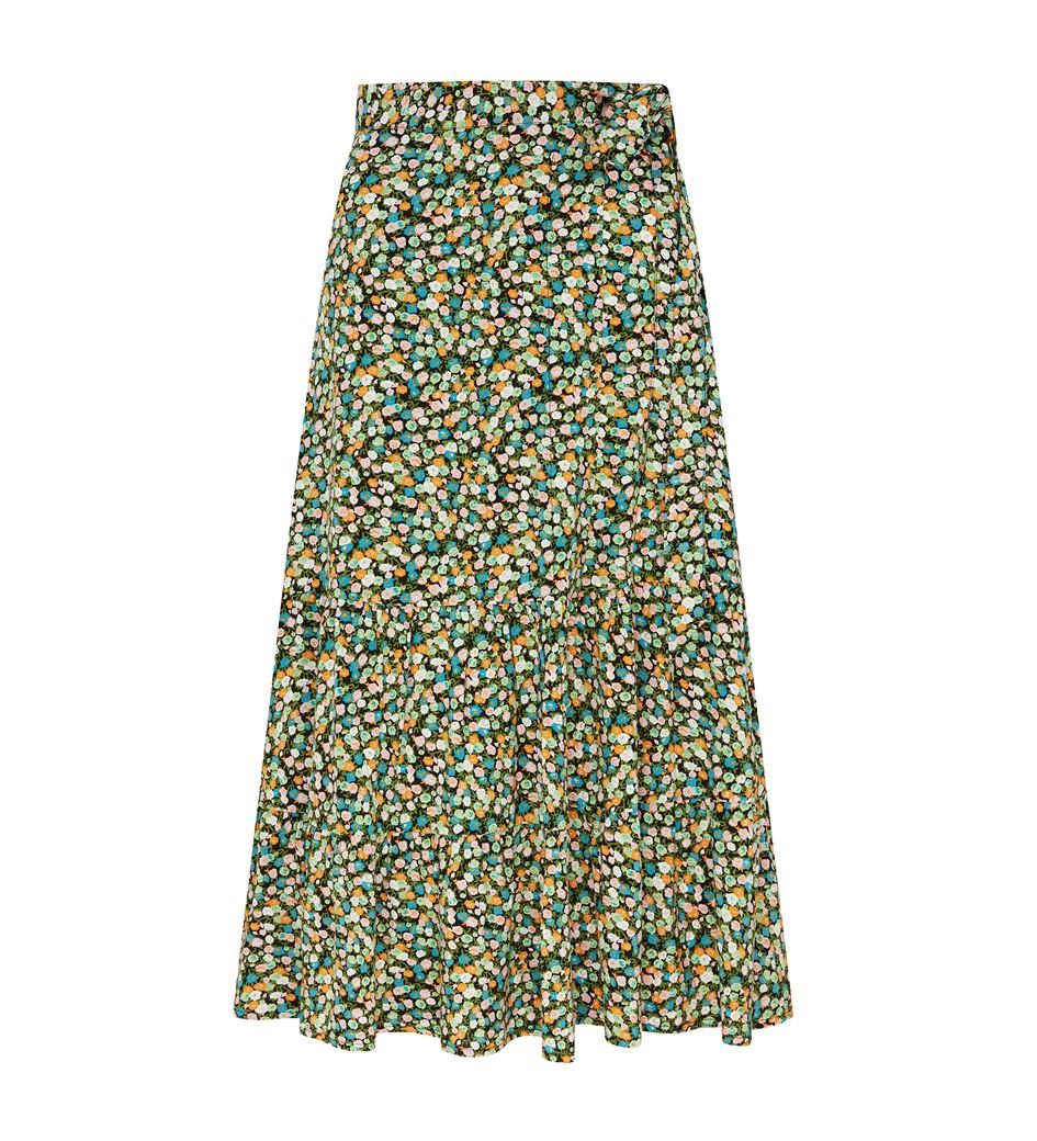 Makayla Green Ditsy Skirt