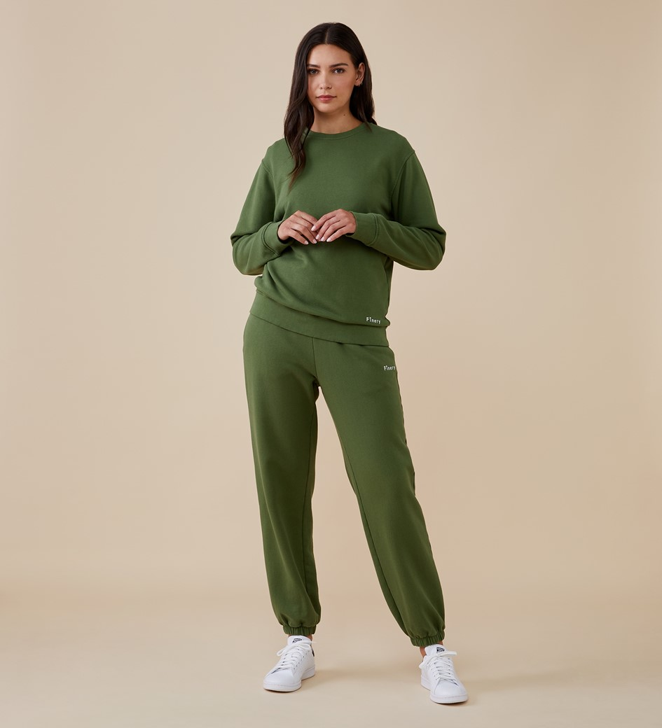 Rosy Khaki Sweatshirt