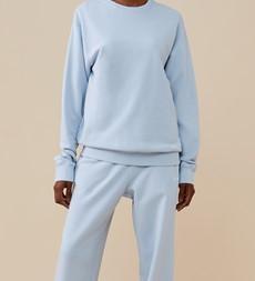 Rosy Light Blue Sweatshirt
